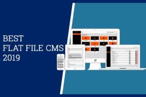 Список лучших Flat File CMS 2019