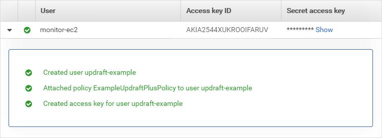 AWS IAM добавил пользователя