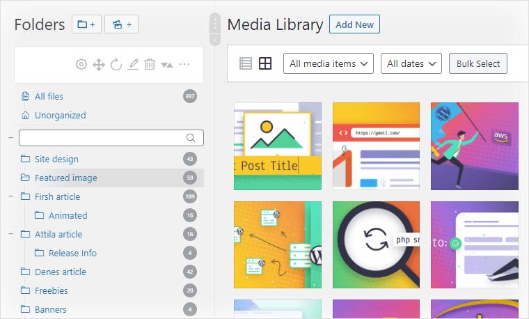 WordPress Real Media Library используется на Let's WP