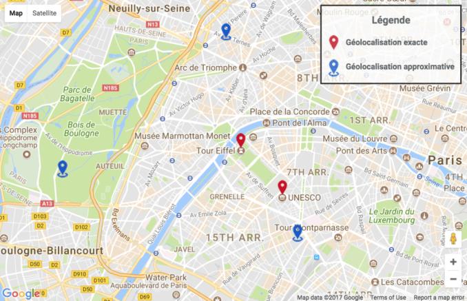 Несколько пользовательских маркеров с легендой в gmap