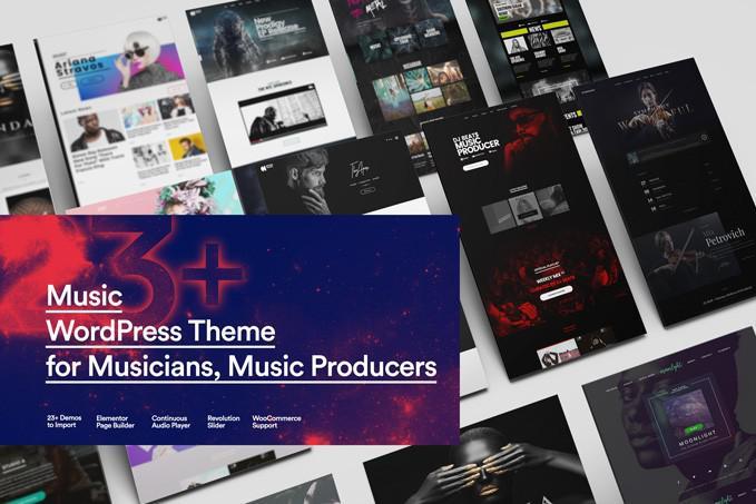Певица WordPress Theme от Sonaar