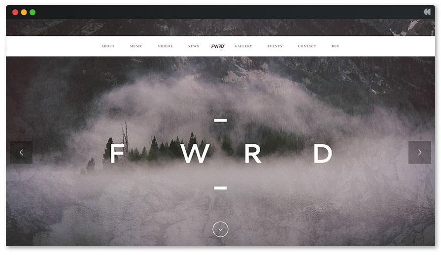 Темы FWRD Singer WordPress