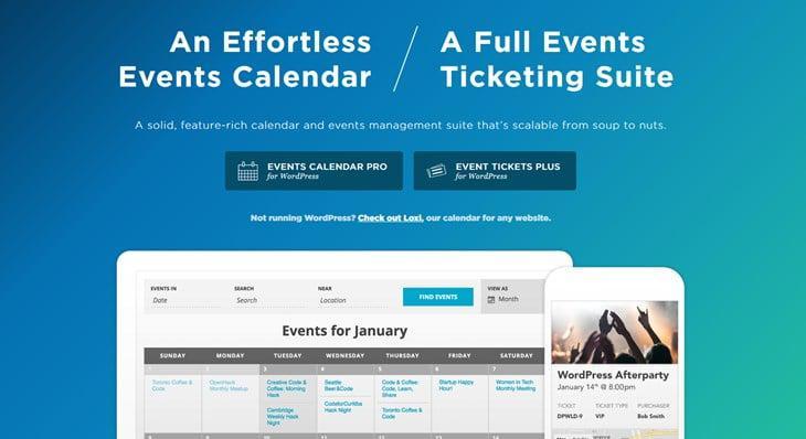 календарь событий WordPress плагин