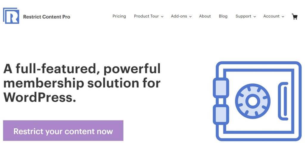 Ограничить плагин членства Content Pro WordPress