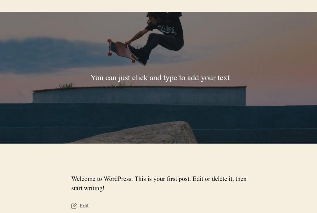 Как добавить текст на изображение записи в WordPress