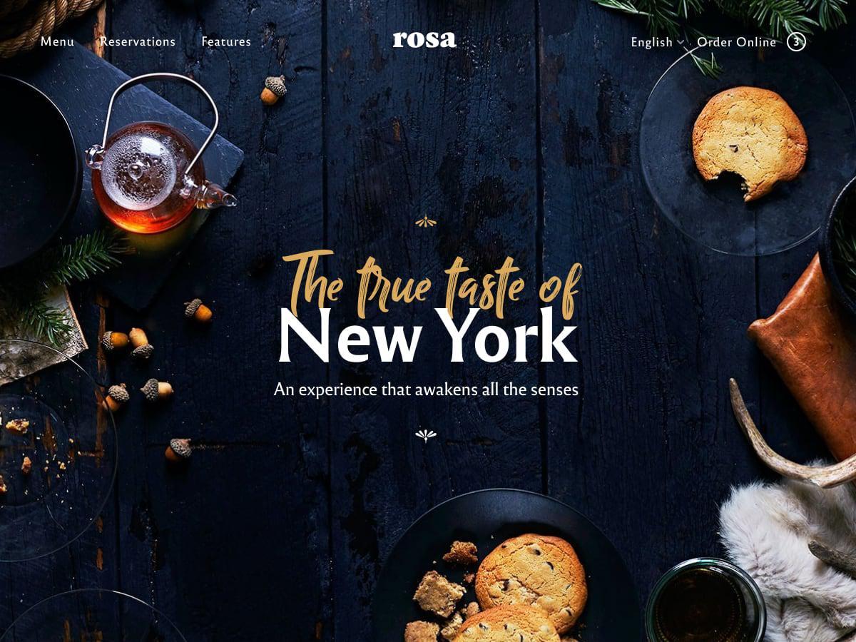 тема ресторана Роза 2