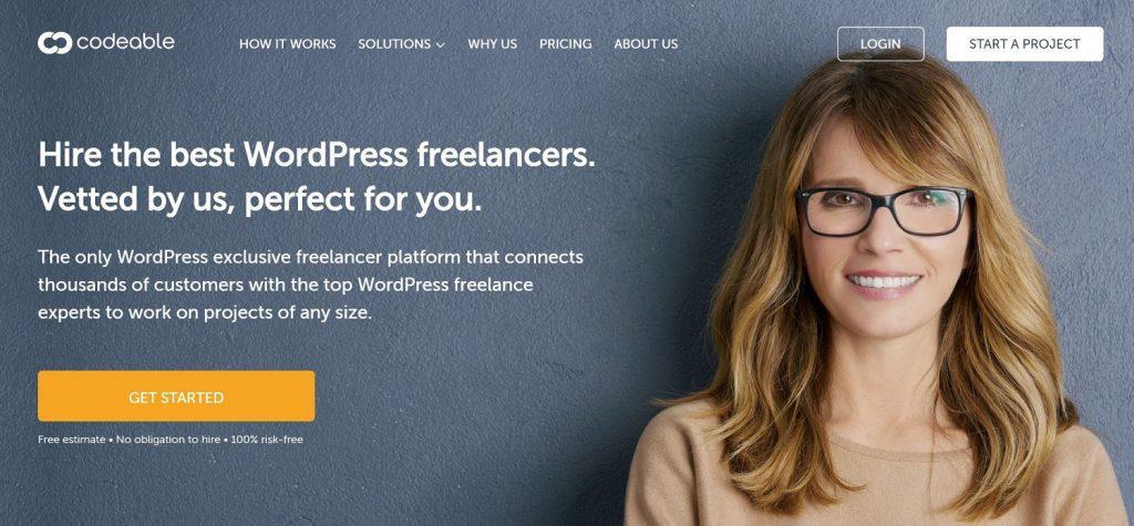 Codeable имеет самые высокооплачиваемые внештатные вакансии WordPrses