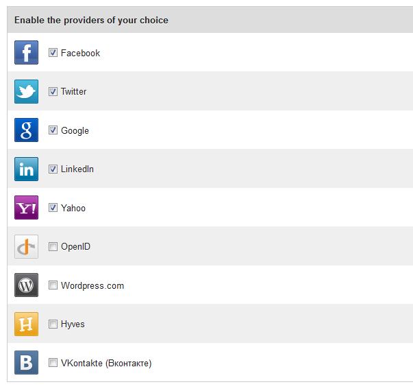 Плагин WordPress для социальных сетей