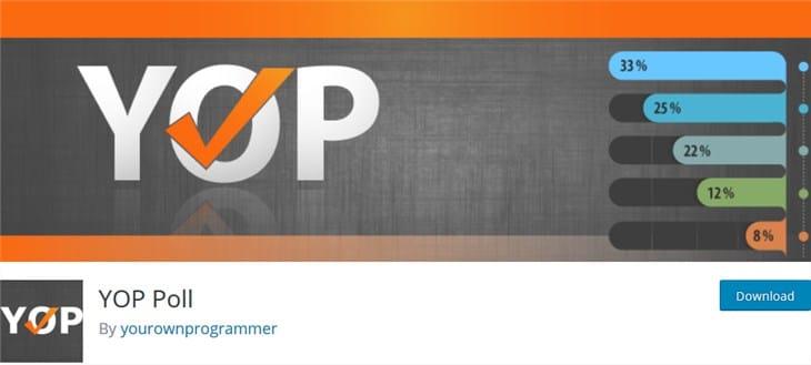 yop poll wp плагин плагин WordPress опрос
