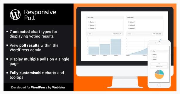Отзывчивый опрос WordPress плагин