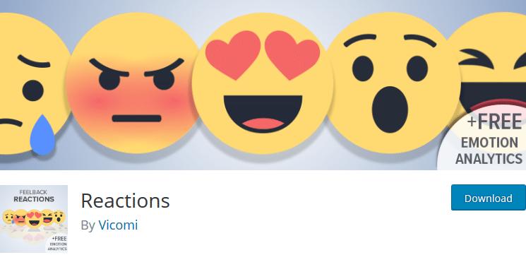 Плагин реакции для WordPress плагин WordPress опрос