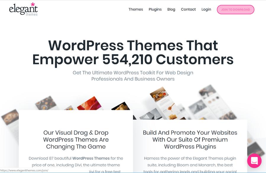 Elegant Themes - одна из лучших премиум-компаний WordPress.