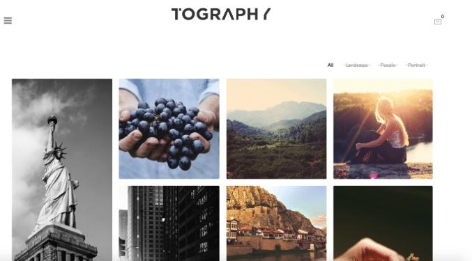 сделать фото шаблон WordPress
