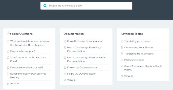 Лучшие плагины для создания сайта базы знаний WordPress (бесплатно и премиум) 5