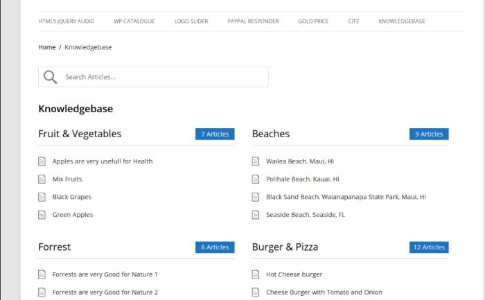 лучшие бесплатные плагины базы знаний WordPress