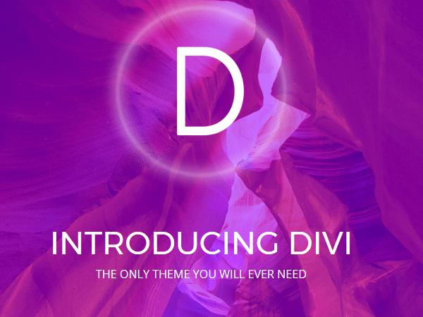 Многоцелевые темы WordPress - Divi