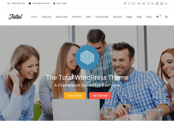 Многоцелевые темы WordPress - Всего