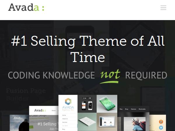 Многоцелевые темы WordPress - Avada