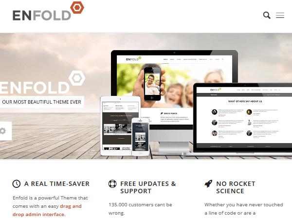 Многоцелевые темы WordPress - Enfold