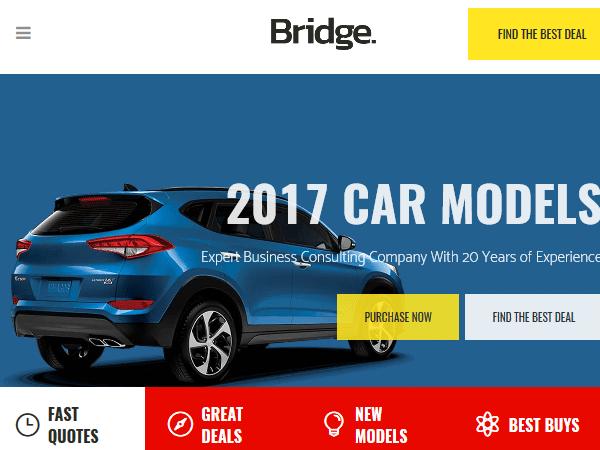 Многоцелевые Темы WordPress - Мост