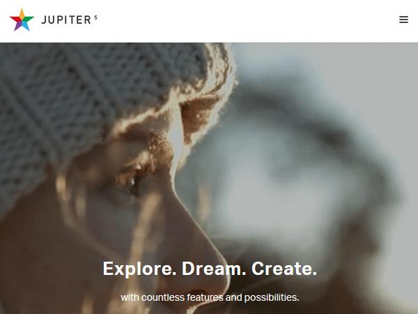 Многоцелевые темы WordPress - Юпитер
