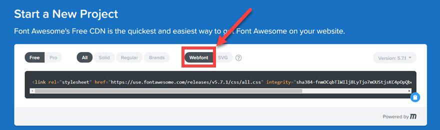 Прекрасный шрифт WordPress