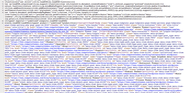 Свернутый HTML от Compettethemes.com