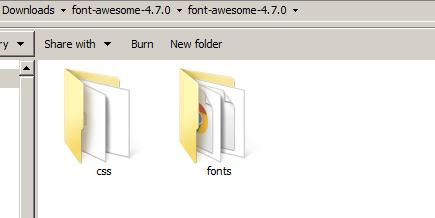 Локализовать шрифт Awesome