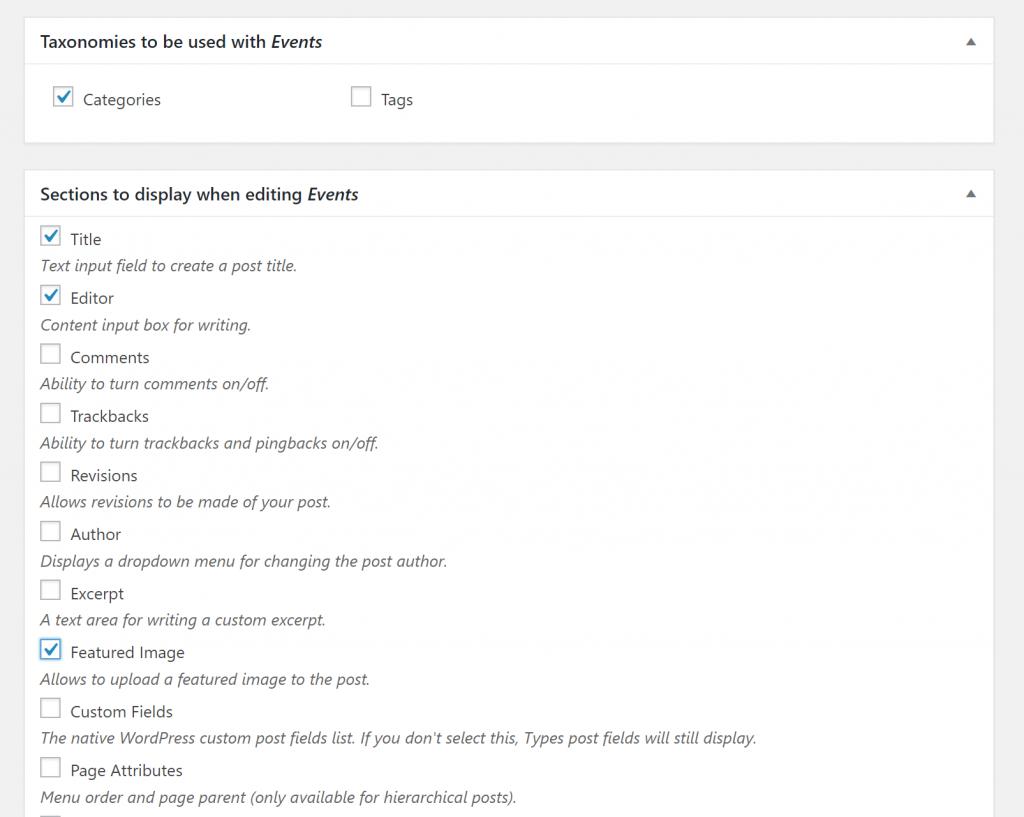 Как создать собственный тип поста (пользовательский тип записей) в WordPress