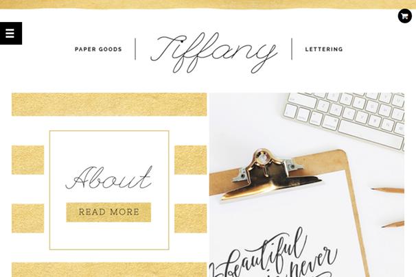 Тема Тиффани WordPress