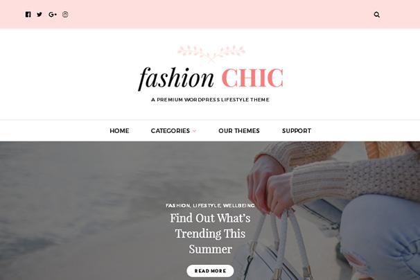 Модный Шикарный WordPress