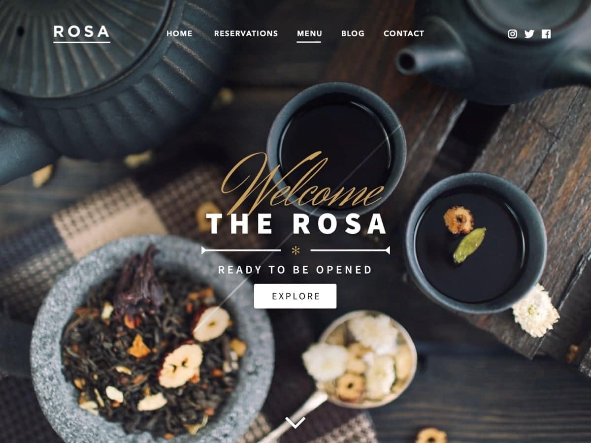 Роза Лайт Ресторан Свободная Тема