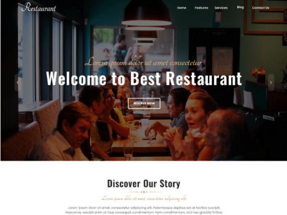 Бесплатная еда WordPress Themes