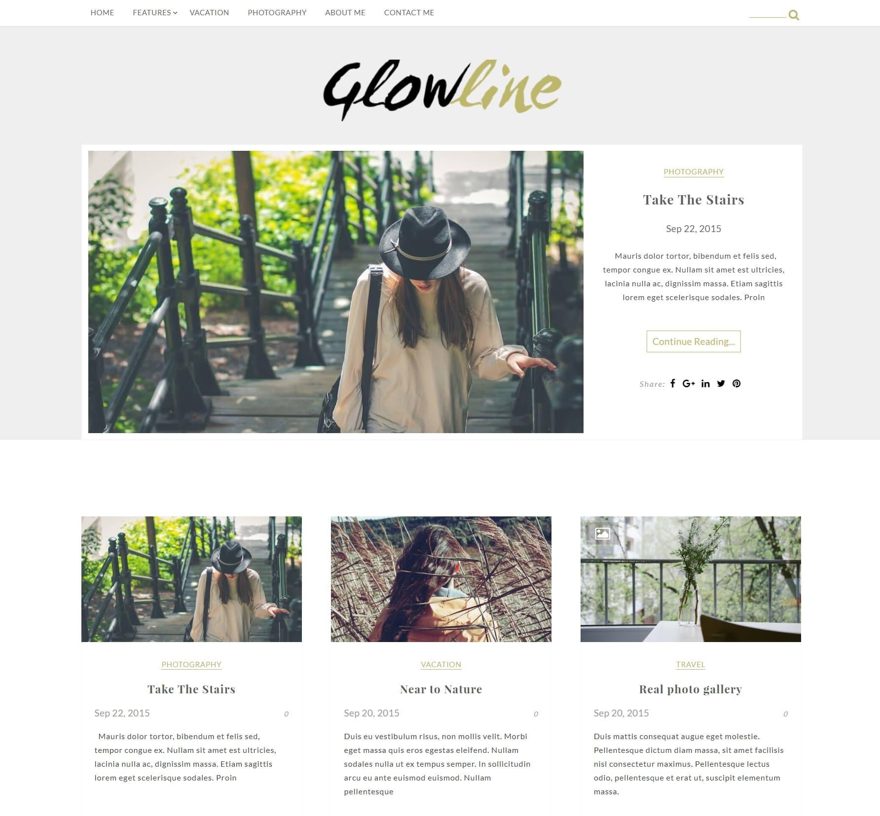 Стиль жизни GlowLine