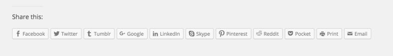 JetPack - Кнопки социальных сетей (перевод)
