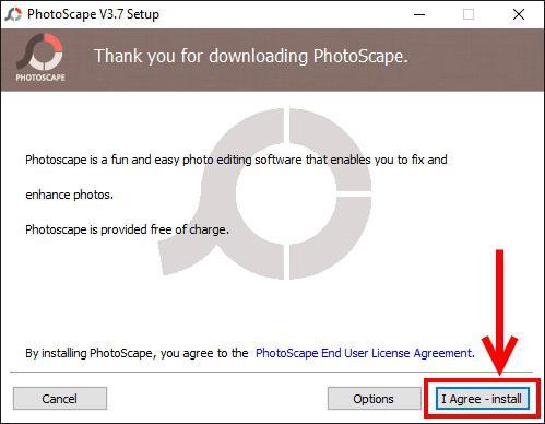 Photoscape - установка программы и обрезка изображения в редакторе