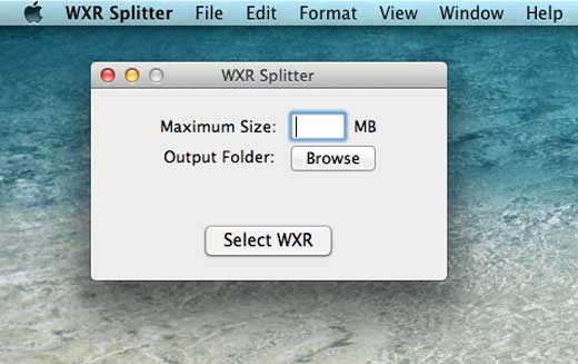 Mac WXR Splitter