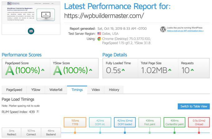 Рекомендуемые настройки производительности Swift для ускорения работы вашего сайта - плагин WordPress Cache (Руководство 2020) (используйте код: WPBM40, чтобы получить скидку 40%) 3