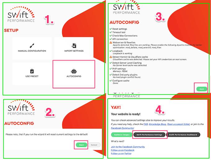 Swift Performance - Рекомендуемые настройки производительности | Полное руководство 2020