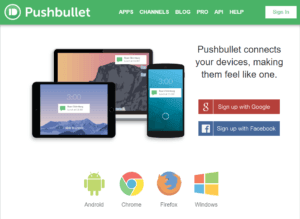 Pushbullet и его API + Интеграции