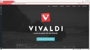 Vivaldi, браузер с вертикальными вкладками для опытных пользователей