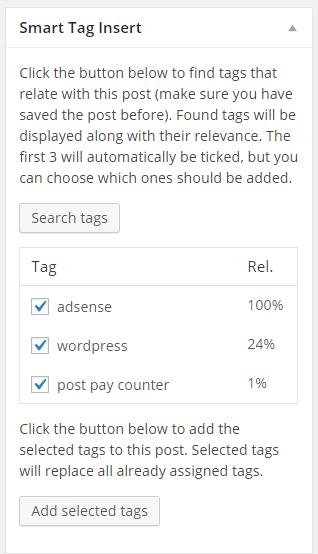 Автоматически добавлять теги в WordPress и ограничивать их количество