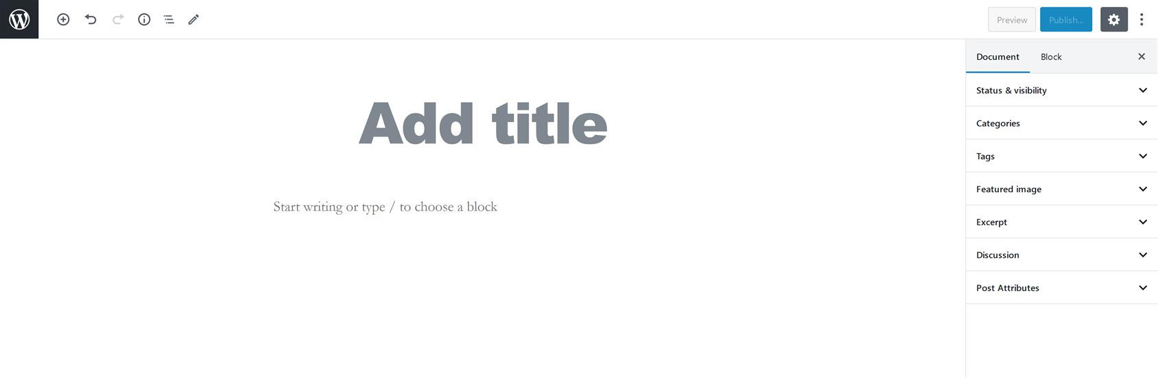 Как добавить новую запись в WordPress (блочный или классический редактор)