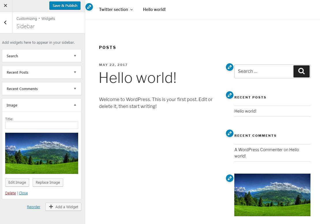 Что такое виджеты WordPress и как их использовать