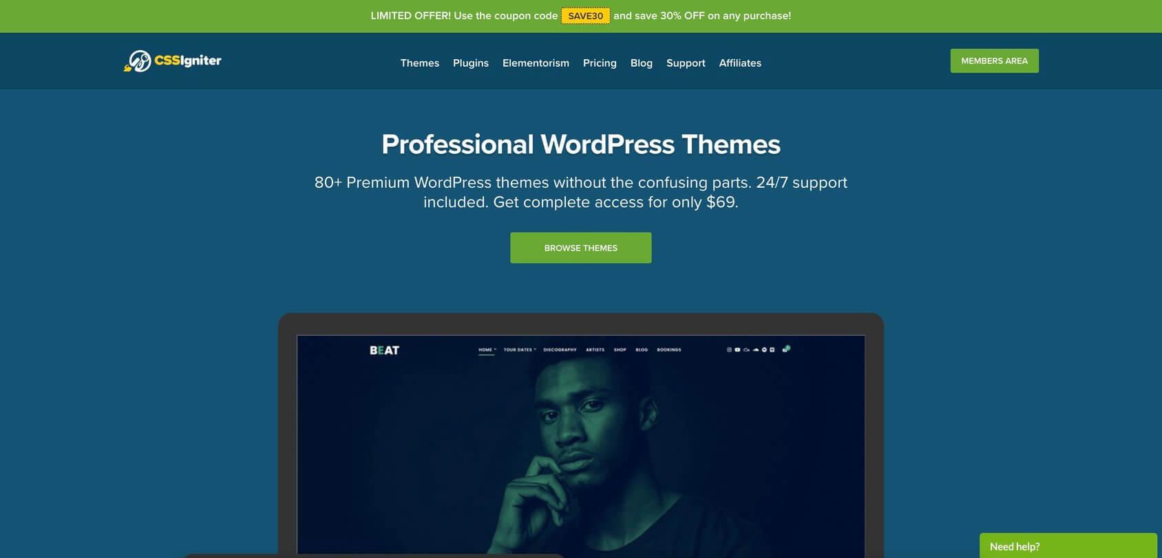 Лучшие темы WordPress 2020: топ-50 (обзор)