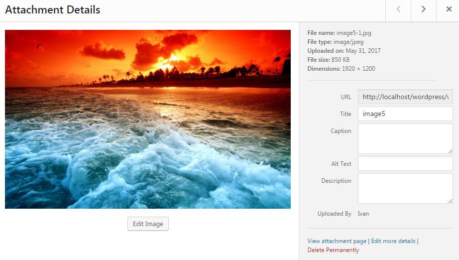 Медиа-библиотека WordPress - как использовать и добавлять изображения