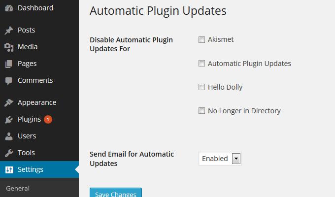 Узнайте, как включить автоматическое обновление WordPress для плагинов