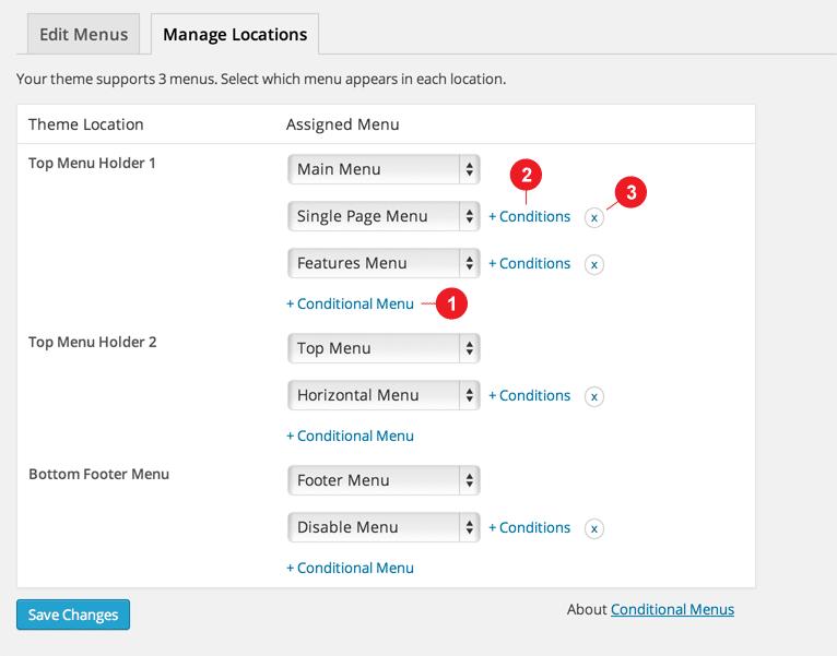 Как добавить условное меню в WordPress? (Самый простой способ)