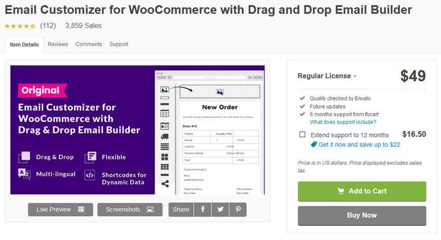 15 плагинов для настройки электронной почты WooCommerce