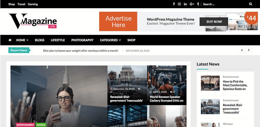 25+ лучших бесплатных тем WordPress для новостных порталов 2020 ?
